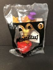 2012 McDonalds Dreamworks MADAGASCAR 3 - ALEX Lion Happy Meal Toy #1