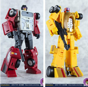 In-Stock MS-TOYS MS-B12+B13 Mini Pillage Contain Dragstrip Deadend Action Figure