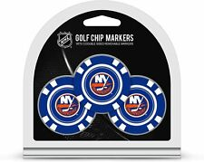 Nhl New York Islanders Golf Ball Markers (3 Count), Poker Chip Size