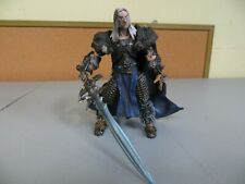Prince Arthas Warcraft 3 Figure WOW World USED/BURNED for The It's Alive Show