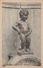 Postcard Belgium Brussels Manneken-Pis Duquesnoy c1907-15 NrMINT Unused