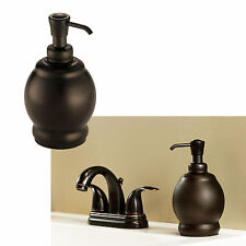 Bathroom Soap Pump Lotion Dispenser Sink Accessories, Oil Rubbed Bronze - Short
