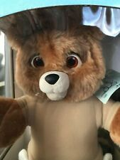 VINTAGE 1987 WORLDS OF WONDER BABY TEDDY RUXPIN, Tested and working