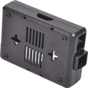 Raspberry Pi Model B Jet Black Case with GPIO Cut-Outs and Slots