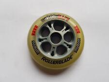 Rollerblade Lite HP Inlineskate Rollen 82mm 82A für Microbearings grau/rot NEU