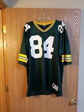 Vintage Bill Schroeder Green Bay Packers Champion Jersey Size 52 EUC