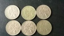 1959 - 1964  6No. 6d / Sixpence - Great Britain - Elizabeth II - English UK Coin