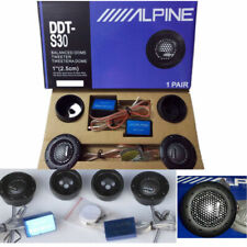 """ALPINE DDT-S30 25MM 1"""" SOFT DOME BALANCED CAR TWEETERS 360W CROSSOVERS Systems"""