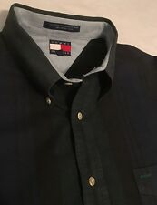 Vintage Striped Tommy Hilfiger Button Front Shirt Extra Large Xl