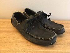 Gravis Dylan Rieder Black Wax Boat Shoes Size 10 huf skateboard skate