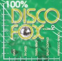 Disco Fox 100% Vol.2 - NEU CD- Sally Oldfield Gigi D Agostino Tribal King
