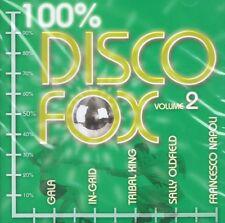 Discoteca Fox 100% vol.2 - NUOVO CD-Sally Oldfield Gigi D Agostino TRIBAL King
