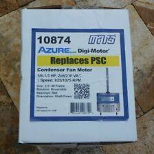 🌟🎈 MARS 10874 AZURE Digi-Motor 1/8-1/3 HP 208/230 VAC 825/1075 RPM Condenser