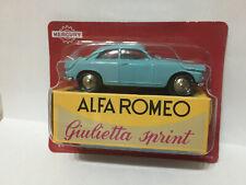ALFA ROMEO GIULIETTA SPRINT MERCURY HACHETTE 1/48