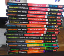 15 Most Wanted Books-1 to 10 plus 4 Special Editions-Haunted Mask -Goosebumps