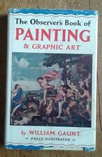 Observer's Book of Painting & Graphic Art, 1968 ed, illus, orig unclipped dj