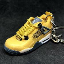 Air Jordan IV 4 Retro Lightning Yellow OG Sneakers Shoes 3D Keychain Figure 1:6