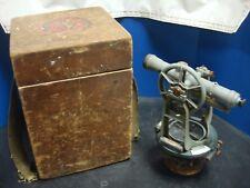 Vintage Kampe Keuffel Amp Esser Co Survey Transit With Wooden Box