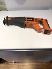 ridgid cordless sazall 18v bare tool