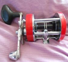 Red Abu Ambassadeur 7000Multiplier Fishing Reel
