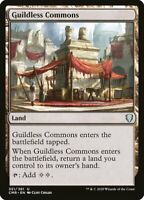 MTG Commander Legends NON-FOIL U Guildless Commons #351 PLAYSET x4 4x