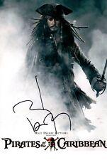 JOHNNY DEPP signed Autogramm 20x28cm PIRATES in Person autograph COA SPARROW