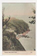 Clovelly from Hobby Drive, JWS Postcard, M029