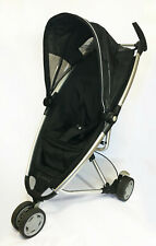 Quinny Zapp Pushchair/Stroller/Buggy Black & Grey + Carry Bag & Rain Cover