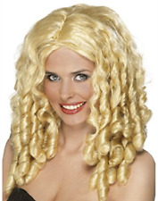 Film Star Wig, Blonde, Long with Spiral Curls (US IMPORT) COST-ACC NEW