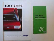 Prospetto FIAT FIORINO PANORAMA/Cassetta/Pick-up, 11.1993, 12 PAGINE + LISTINO PREZZI