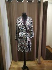 Marjolaine Silk Robe Kimono in Tribal Animal Print Size 38 UK 8-10 BNWT