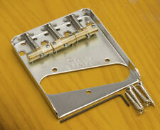 Genuine Fender USA Telecaster® Bridge w/Compensated/Staggered Saddles-Tele®-