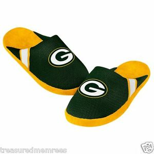 NFL Green Bay Packers Team Jersey Indoor/Outdoor Slippers ~ Size XL (13-14)