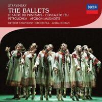 ANTAL DORATI/DSO - IGOR STRAWINSKY-THE BALLETS  2 CD  ORCHESTRA MUSIC  NEU