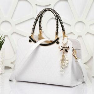 Fashion Handbags Women Bags Shoulder Messenger Bags Wedding Clutches Bag White
