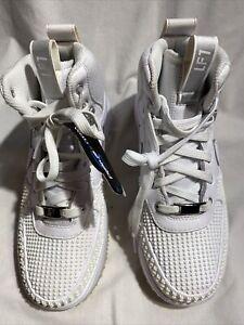 Nike Lunar Force1 Boys New Duck Boot GS White 882842 -100 Sz 4.5Y