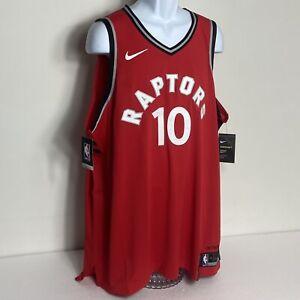 Nike Aeroswift DeRozan Toronto Raptors #10 NBA Stitched sz 58 (XXXL) 863040-657
