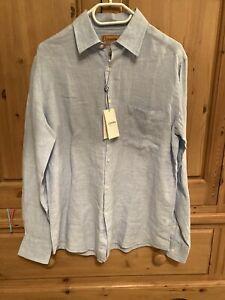 Schoffel mens linen shirt - Small