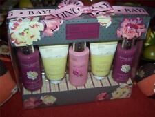 Baylis & Harding 5 pc Gift Set Black Raspberry Verbena & Chamomile Peach Poppy