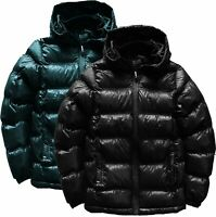Childrens Boys Padded Puffer Quilted Hooded Winter Coat School Jacket New