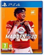 MADDEN NFL 20 PS4 GIOCO PLAY STATION 4 VIDEOGIOCO FOOTBALL AMERICANO EU RUGBY
