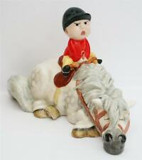 BESWICK THELWELL HORSE/PONY KICK START GREY MODEL 2769A