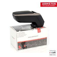 ARMSTER 2 - PREMIUM Armlehne SILBER für MINI R56/57/55/58/59 ONE COOPER WORKS