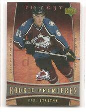 Paul Stastny 2006-07 Upper Deck Trilogy RC 394/999 Rookie