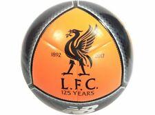 Official Liverpool Football Club Black Orange New Balace Size 5 Football