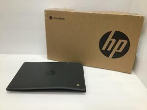 "HP 11.6"" 32GB Chromebook 11A G8 Laptop 16W64UT#ABA READ"