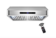 New listing Akdy 30 in. 600 Cfm Ducted Under Cabinet Range Hood in Stainless Steel Rh0307