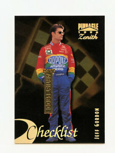 Jeff Gordon 1996 96 Pinnacle Zenith 24KT Gold Artist Proof Parallel Card AP #99