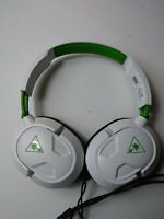 Turtle Beach RECON 50X White Headband Headsets for Microsoft Xbox One for parts