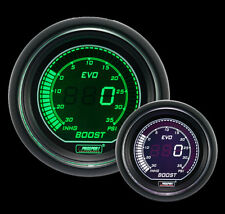 Prosport-Digital Boost Gauge EVO Series GREEN & WHITE 52mm
